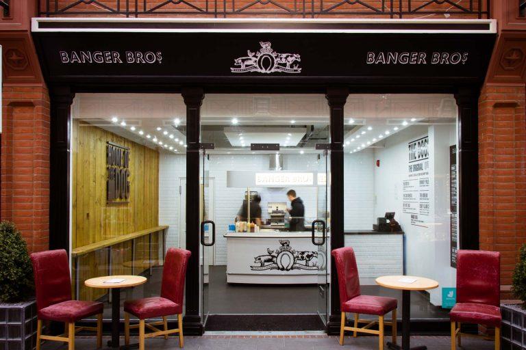 Royal Star Arcade Maidstone Banger Bros food
